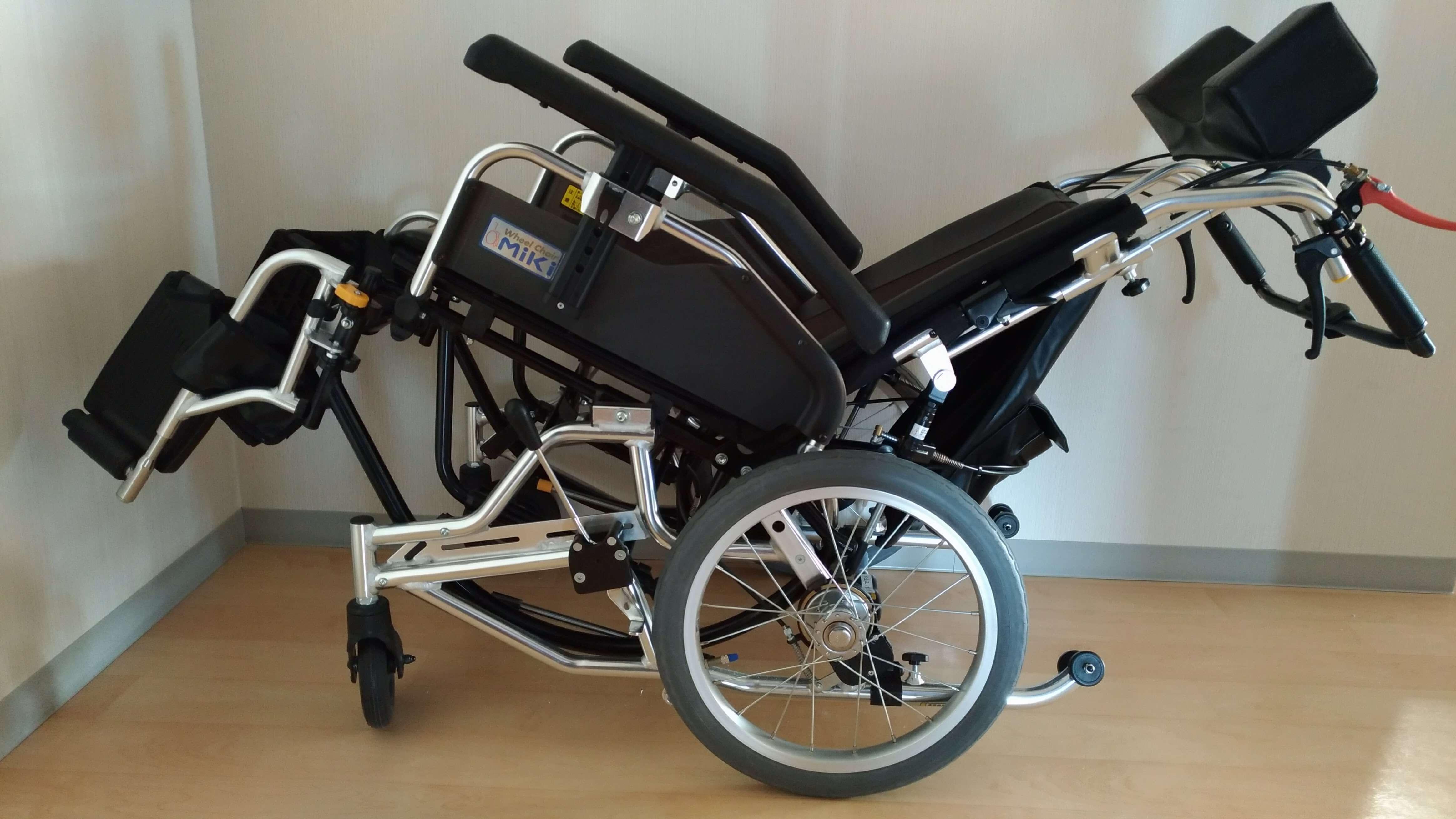 車椅子 評価 ティルト・リクライニング