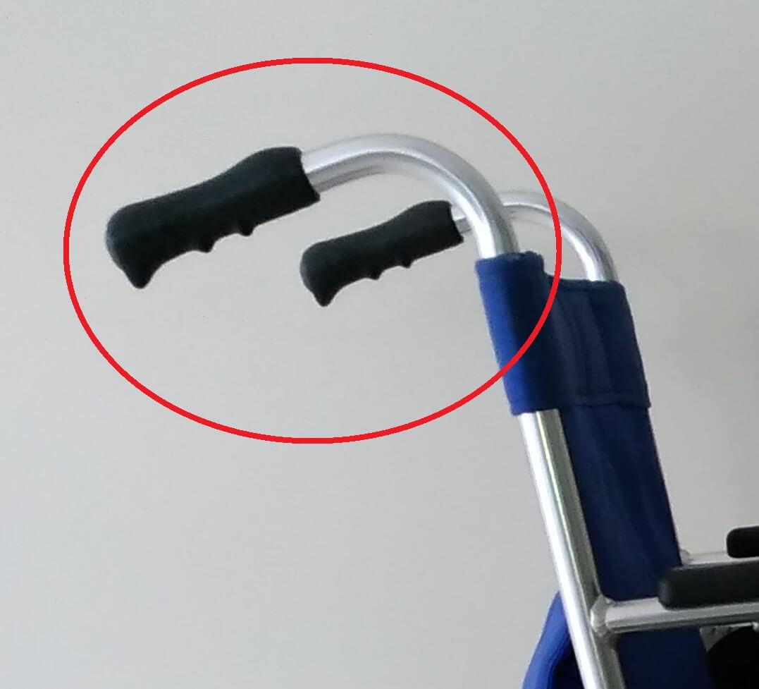 自走用車椅子 介助ブレーキなし