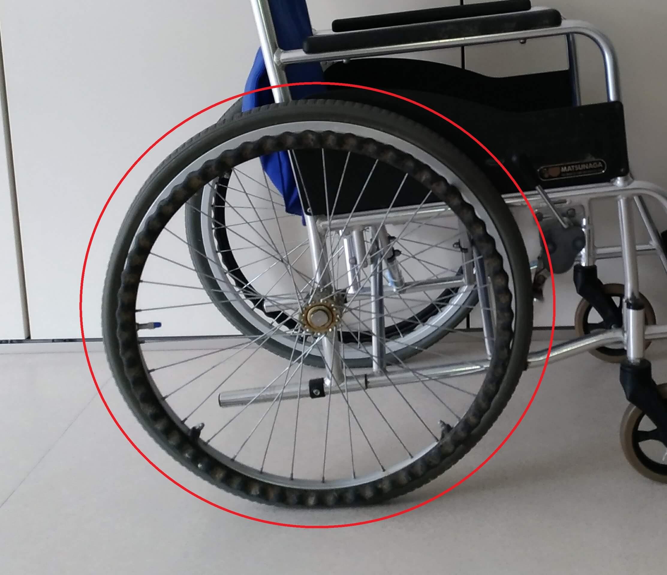 自走用車椅子 ハンドリム